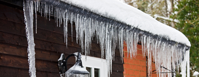 Take Steps to Prevent Damage from Ice Dams